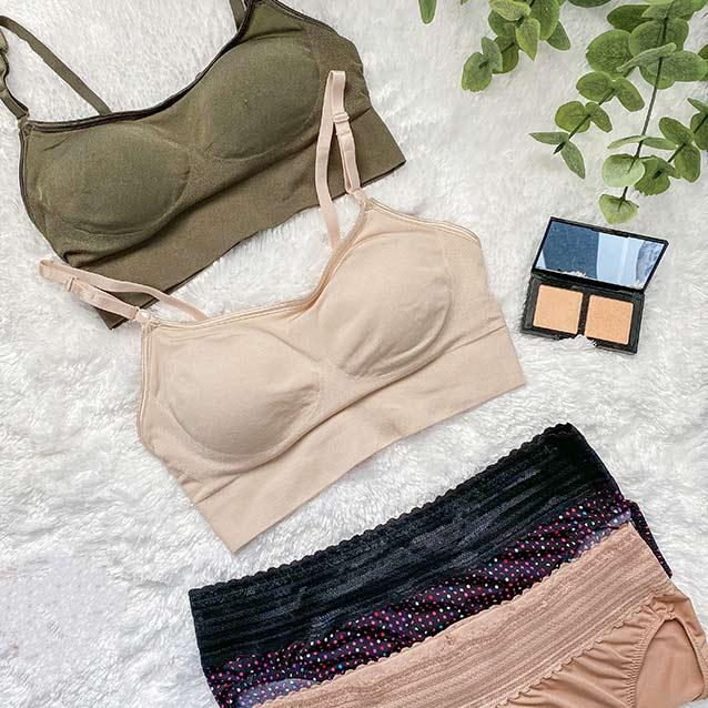 Easy Does It™ Wireless No Dig and No Pinching. No Problems. Hi-Cut Bikini w/ Lace