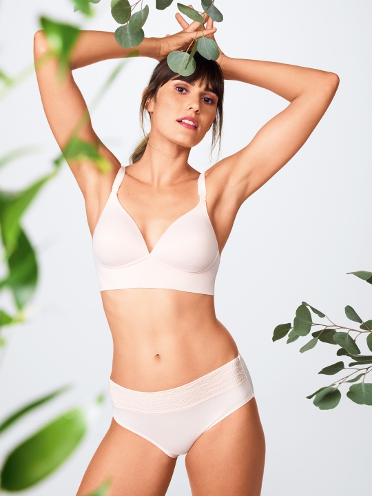 Warner's, Elements Of Bliss, Wire-Free Bra