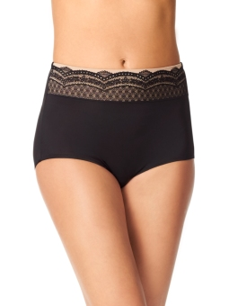 Warner's No Pinching No Problems Brief with Lace RS7401P