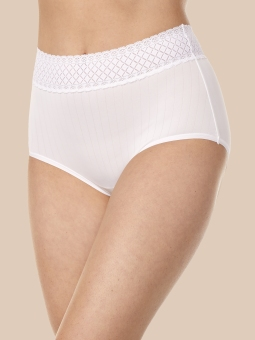 No Pinching, No Problems Brief with Lace #RS2241P
